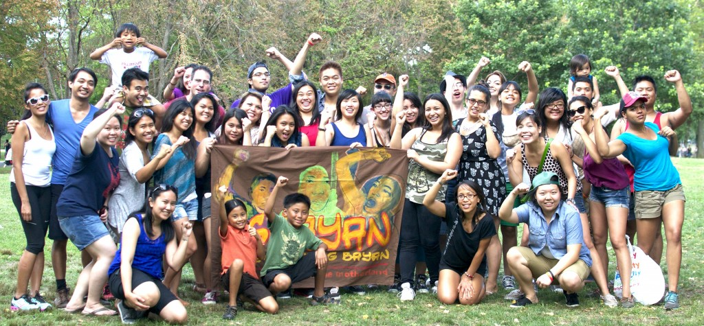 Ugnayan's 2013 Lakas Kabataan interns, mentors, members and friends spend a day in Flushing Meadows Park, Queens.